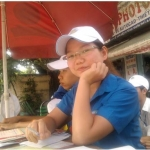 Tôi- Đặng Thị Như Hà tham gia tiếp sức mùa thi năm 2011 trường ĐH Nông Lâm - tp. HCM