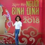 Tôi - Đặng Thị Như Hà tham gia hội đồng hương Bình Đinh năm 2018